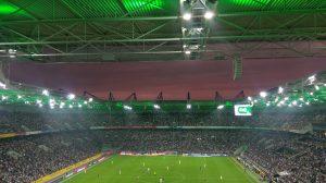 Abendstimmung im Borussia-Park